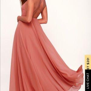 Lulus mythical kind of love maxi dress
